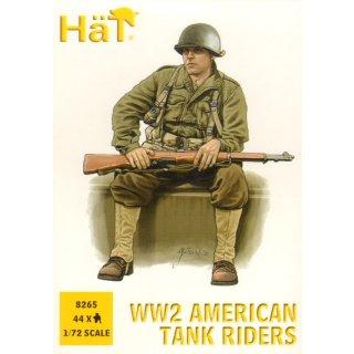 U.S. Infantry tank riders (WWII)