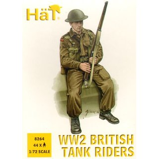 British (WWII) Infantry tank riders (W?