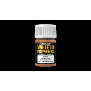 73105 Vallejo Pigments Natural Sienna 35ml