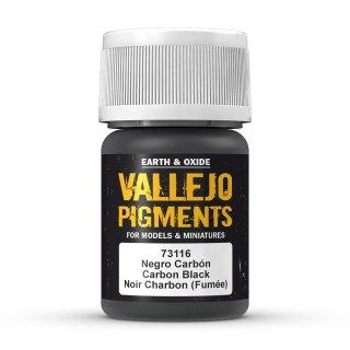 73116 Vallejo Pigments Carbon Black 35ml