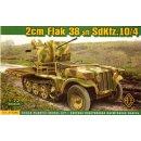 1/72 - 2cm Flak 38 Sfl Sd.Kfz.10/4
