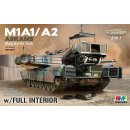 1/35 Rye Field Model: U.S. Main Battle Tank (MBT) M1A1/A2...
