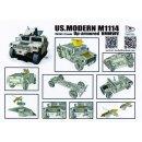 1/72 US.Modern M1114 up-armored HMMWV