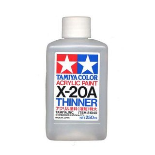 Tamiya X-20A Verdünner / Thinner 250ml