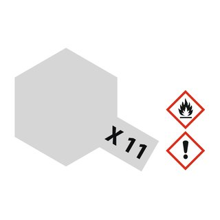 X-11 CHROM SILBER GLÄNZEN