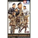 1:48 WWII FIGUREN-SET DT.