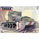 "1/72 Emhar - Mk A ""Whippet"" WWI Medium A Tank..."