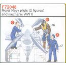 2 ROYAL NAVY/RN PILOTS WW
