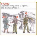 2 JAPANESE ARMY PILOTS WW