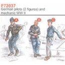2 GERMAN PILOTS WWII + ME