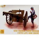 WWI FRENCH 75MM GUN WITH