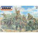 1/72 Emhar German WWI Artillery with 96 n/A 76 mm gun