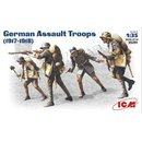 1/35 ICM - German WWI Assault Troops (1917-1918)