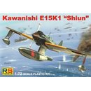 1/72 RS models  Kawanishi E15 K1 Shiun