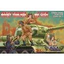 SOVIET TANKMEN (WWII) AND