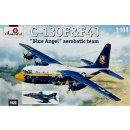 1/144 A model C-130 AND F-4J BLUE ANGELS