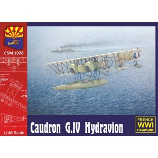 Caudron G.IV float plane French Navy