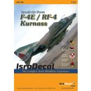 1/72 Isra Decal F-4E & RF-4E Phantom Kurnass