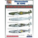 Messerschmitt Bf-109s Over the Czech T?
