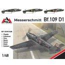 1/48 AMG Messerschmitt Bf-109D-1