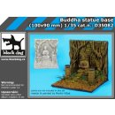 1/35 Buddha Statue Base (resin) (100x90mm)