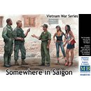 1:35 Master Box Somewhere in Saigon,Vietnam War Series