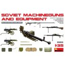 1/35 SOVIET MACHINE GUNS AND EQUIPMENT