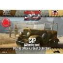 1/72 C4P Polish Artillery Tractor, Early production