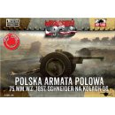 1/72 First to Fight kits Schneider 75mm Polish Field Cannon