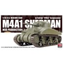 1/35 US M4A1 Sherman Mid production with Initial VVSS...