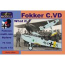Fokker C.VD What if schemes.... Nether?