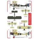 RAF BE-2c (8x camo schemes for RFC a/c?
