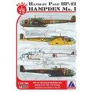 Handley-Page Hampden Mk.I (6x camoufla?