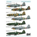 Fiat G.55 2 in 1 series. Model contains 2 complete kits
