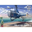 1/48 AMP Sikorsky HO3S-1 USN and Marines with etched parts