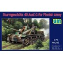 1/72 Unimodel - Sturmgeschütz 40 Ausf.G for Finnish...