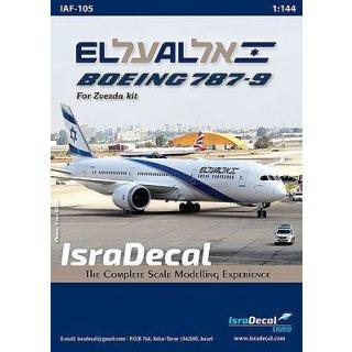 El-Al Dreamliner Boeing 787-9 (desig?