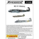"""""""1/72 Xtradecal The History of Kampfgeschwader KG51..."""