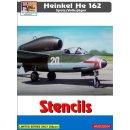 1/32 H-Model Decals Heinkel He-162A-2 Salamander stencils...