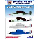 1/48 H-Model Decals Heinkel He-162A-2 in Foreign Service,...