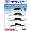 1/48 H-Model Decals Heinkel He-162A-2 in Luftwaffe...