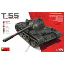 1/35 Mini Art Soviet T-55 Medium tank. Build-up options:...