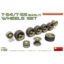 1/35 Mini Art Soviet T-54, T-55 Wheels Set