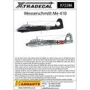 """1/72 Xtradecal Messerchmitt Me-410A-1 (13) White 11..."