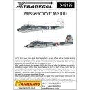 """1/48 Xtradecal Messerchmitt Me-410A-1 (12) White 11..."