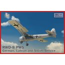 1/72 IBG Models RWD-8 PWS-German, Latvian and Soviet service