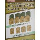 1/35 Hero Hobby Kits US Jerry Can Plastic Tank
