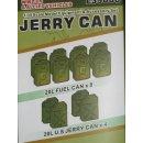 1/35 Hero Hobby Kits US Jerry Can set
