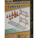 1/35 Hero Hobby Kits Traffic Barricades & Cone set