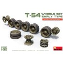 1/35 Mini Art Soviet T-54 wheels set, early type.